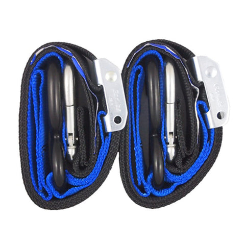 Gorilla Grips 38mm Tie Downs Blue (Pair) - MotoHeaven - 1