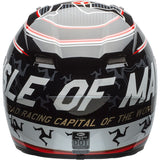 Bell Qualifier DLX MIPS Isle Of Man Helmet - Black/Red - MotoHeaven