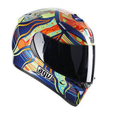 AGV K3 SV Rossi 5 Continents - MotoHeaven - 1