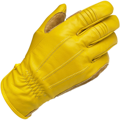 Biltwell Work Motorcycle Gloves - Gold