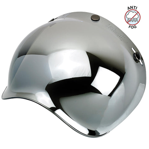 Biltwell Bubble Shield Anti Fog - Chrome Mirror