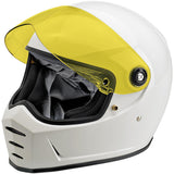 Biltwell Lane Splitter Anti Fog Shield - Yellow