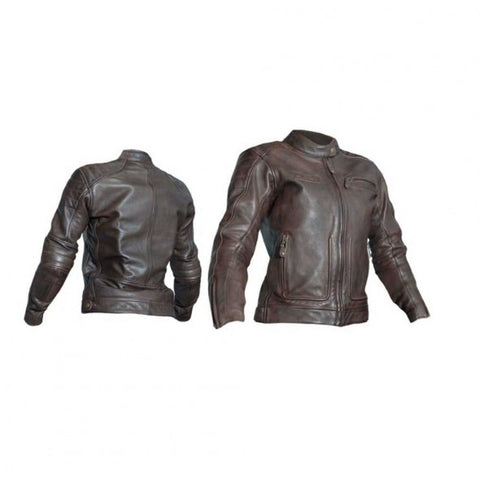 RST 2018 Roadstar 2 Ladies CE Leather Jacket - Brown