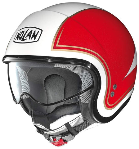 Nolan N21 Italy 31 Helmets - White/Red/Green