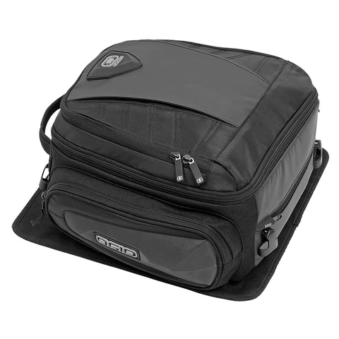 Ogio Duffel Stealth Black Motorcycle Travel Touring Pack Tail Bag