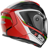 X-Lite X-903 Ultra Carbon Cavalcade 10 Helmet - Carbon/Red/White