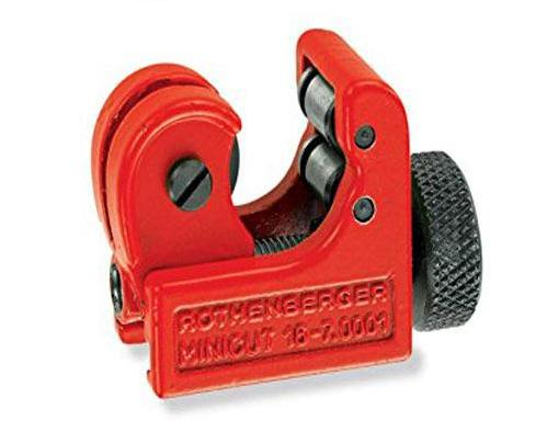 "Genuine Rothenberger 70402 MINICUT I PRO Tube Cutter, 1/4"" - 7/8"" OD"