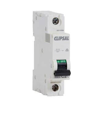 Clipsal Circuit Breaker 4.5KA 10 Amp Single Pole MCB MCB4-110