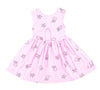 Jelly Star Peek-A-Boo Dress, Peony Pink