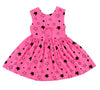 Star Bright Peek-A-Boo Dress, Hot Pink