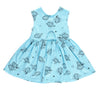 Aloha Hona Peek-A-Boo Dress, Baby Blue