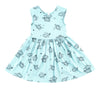 Aloha Hona Peek-A-Boo Dress in Marvelous Mint