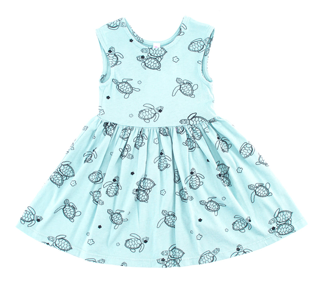 Aloha Hona Peek-A-Boo Dress, Marvelous Mint