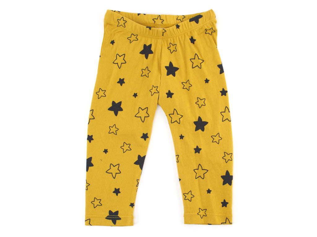 Star Bright Leggings in Chartreuse