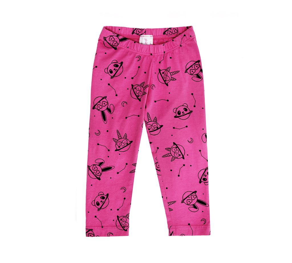 Animal Planet Leggings, Hot Pink