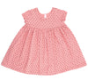 Confetti Hearts Baby Doll Dress, Apricot