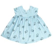 Jelly Star Baby Doll Dress, Baby Blue