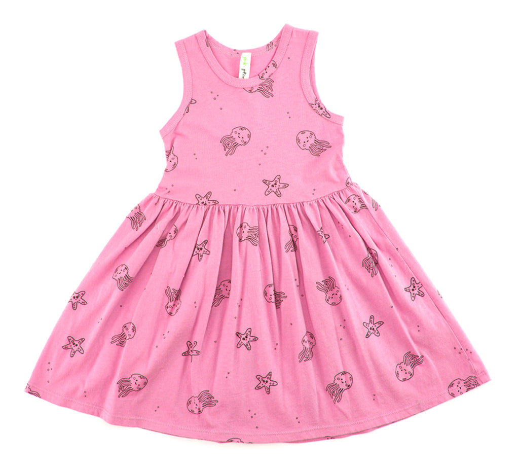 Jelly Star Fish Tank Dress, Flower