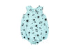 Love, Miss Ladybug Bubble Onesie in Marvelous Mint