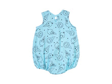 Ice Cream Smiles Bubble Onesie, Baby Blue