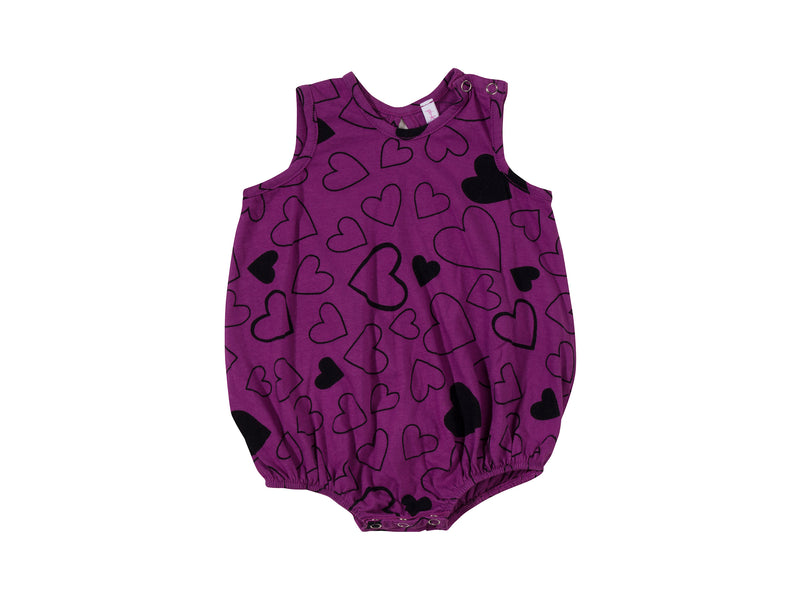 Confetti Love Bubble Onesie, Orchid