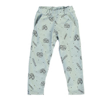 Pretzel Mix Jogger Pant, Dusty Blue