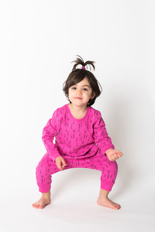 Reh Mama Sweatshirt, Hot Pink