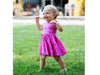 Pink Peony Kids Cute Pink Dress