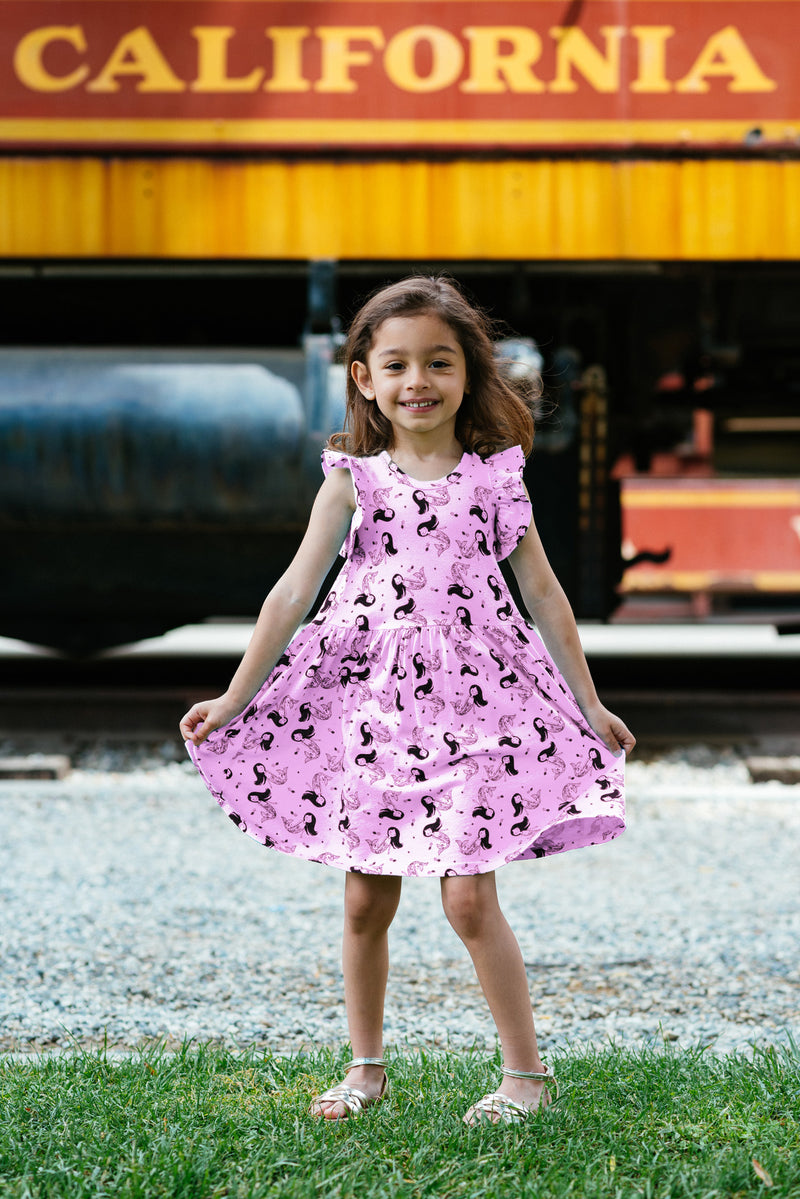 Cute Baby Ruffle Tank Dress