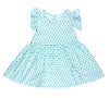 Confetti Hearts Ruffle Tank Dress, Marvelous Mint