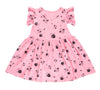Love, Miss Ladybug Ruffle Tank Dress, Flower