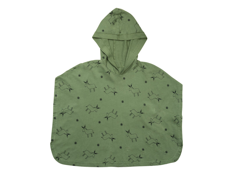 The Burro Poncho, Olive