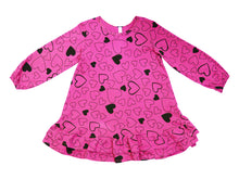 Confetti Love Double The Ruffle Dress, Hot Pink