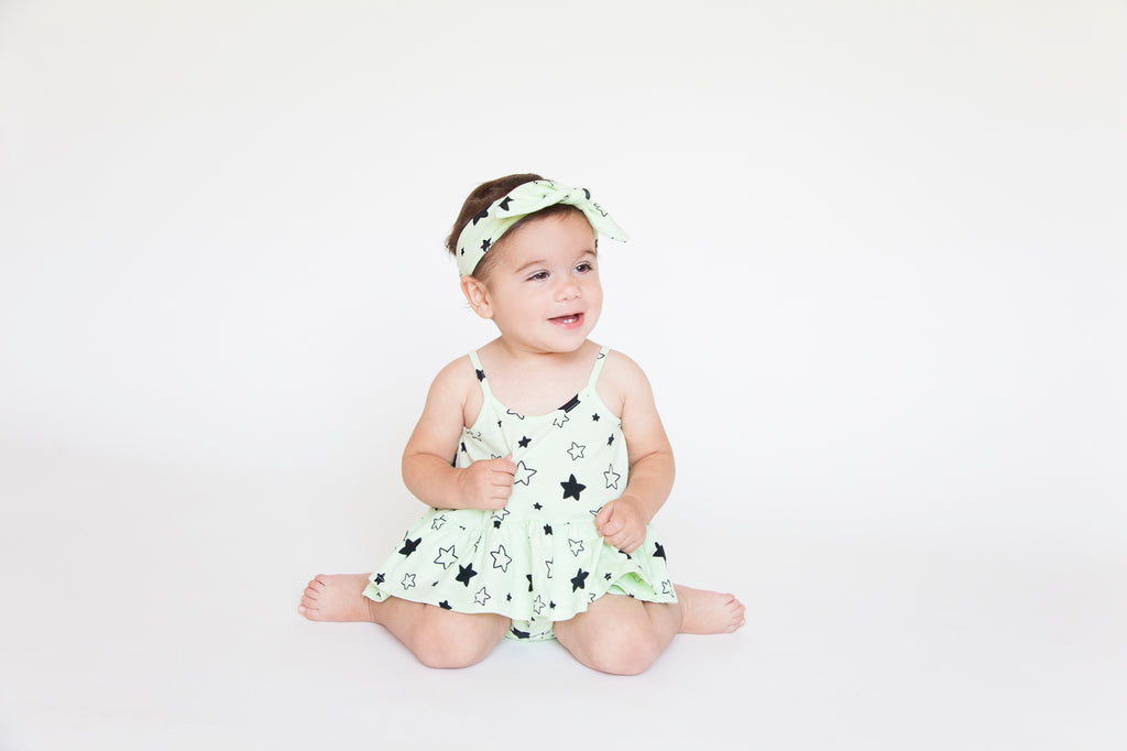 Star Bright Swing Tank Top, Baby Lime