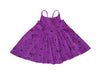 Puppy Party Cross Back Dress, Orchid