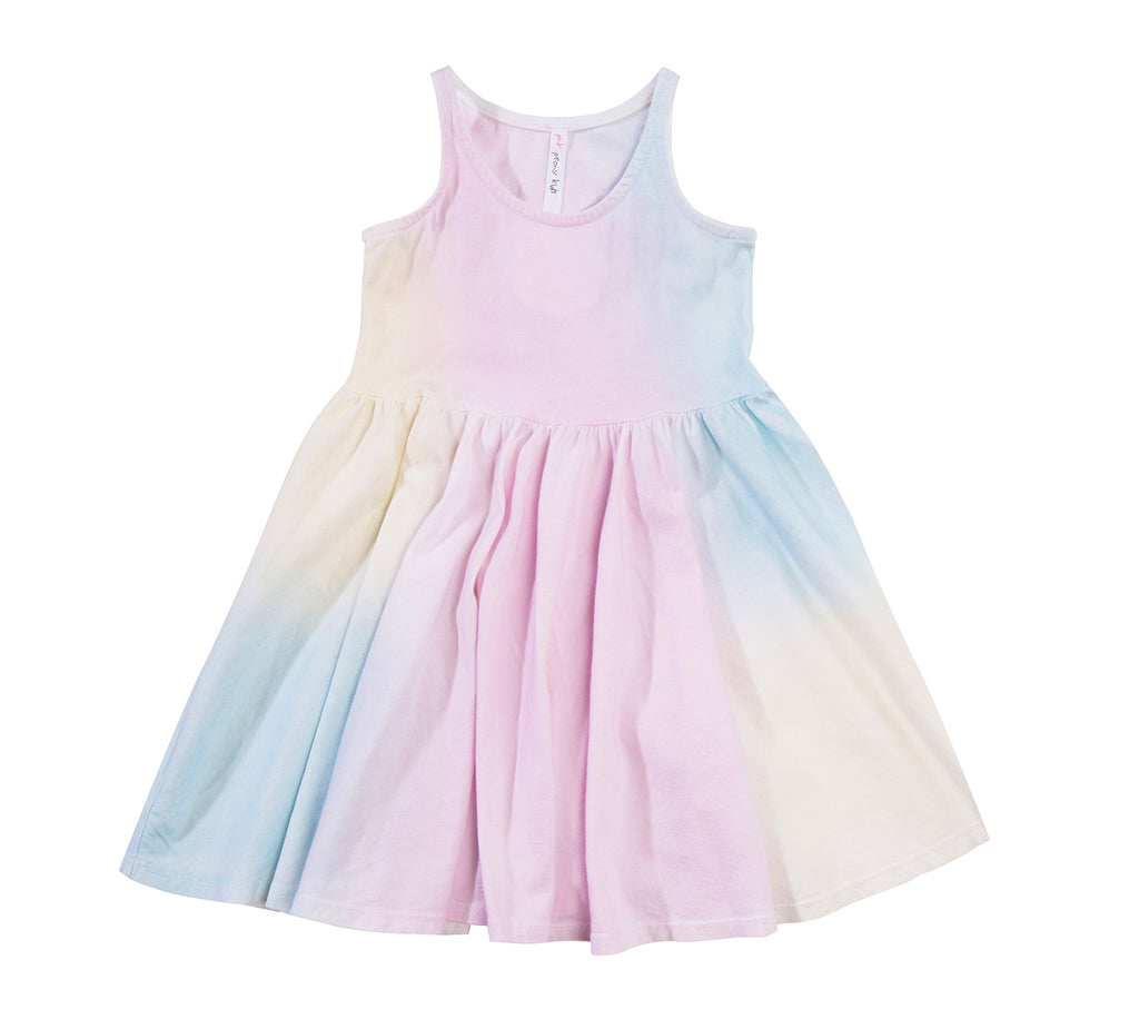 Twirl Dress, Unicorn Rainbow