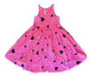 Confetti Love Twirl Dress, Hot Pink