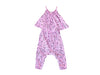 Popsicle Smiles Swing Top Baby Romper, Peony Pink