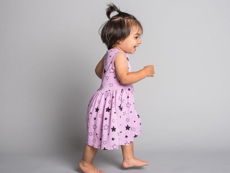 Pink Peony Kids Cute Baby Dress