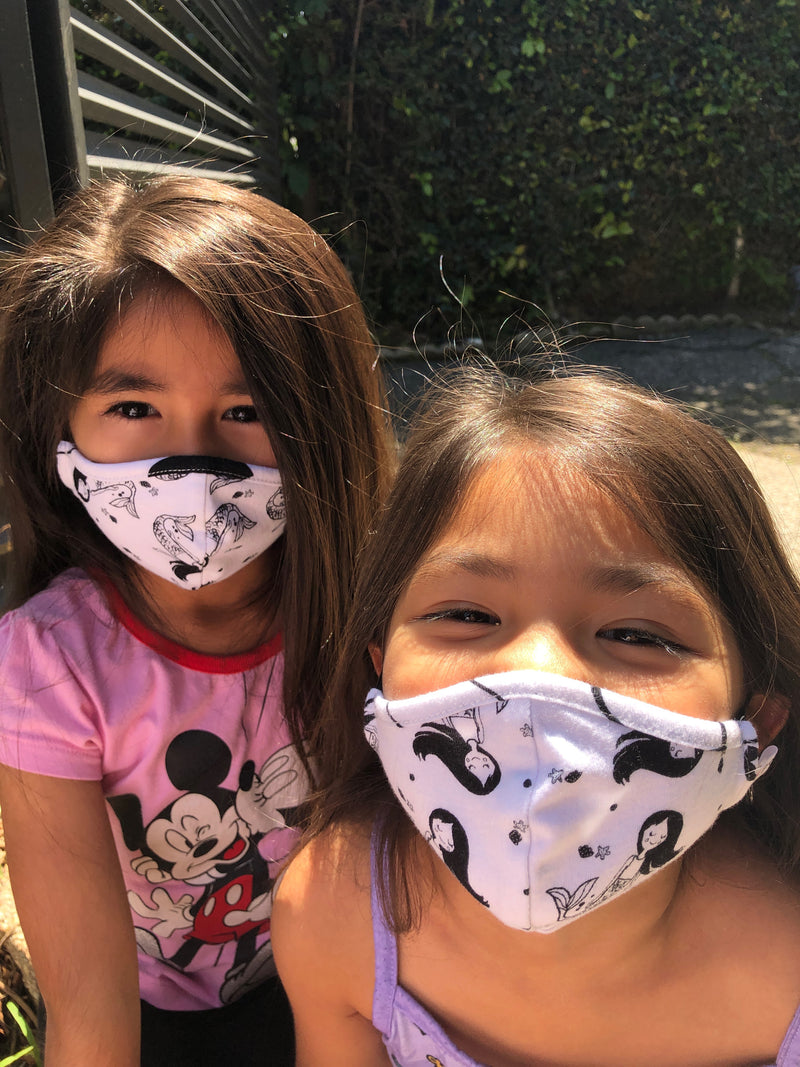 5-Day Kids Face Masks School Pack