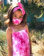 Kids Face Masks, Tie Dye