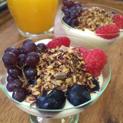 Budwig Diet with Energiemix and fruit