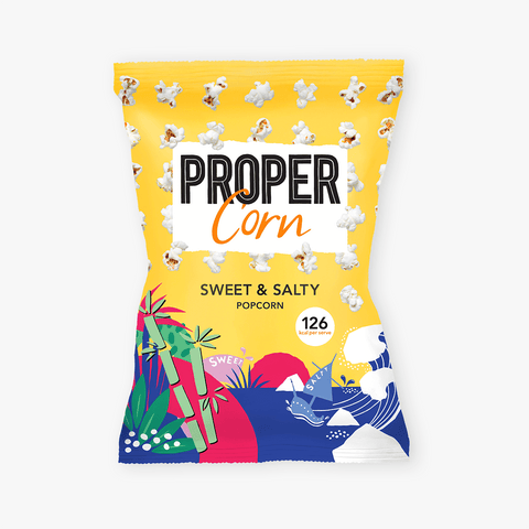 即食甜爆谷 (大) Proper Corn Sweet and Salty Popcorn (90g)