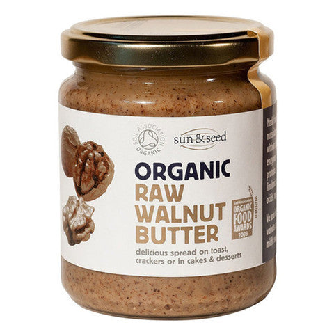 Sun & Seed 有機原生合桃醬 Organic Raw Walnut Butter (250g)