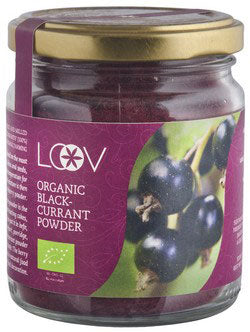 Loov 有機森林野生黑加侖子粉 Organic Forest Wild Blackcurrant Powder (100g)
