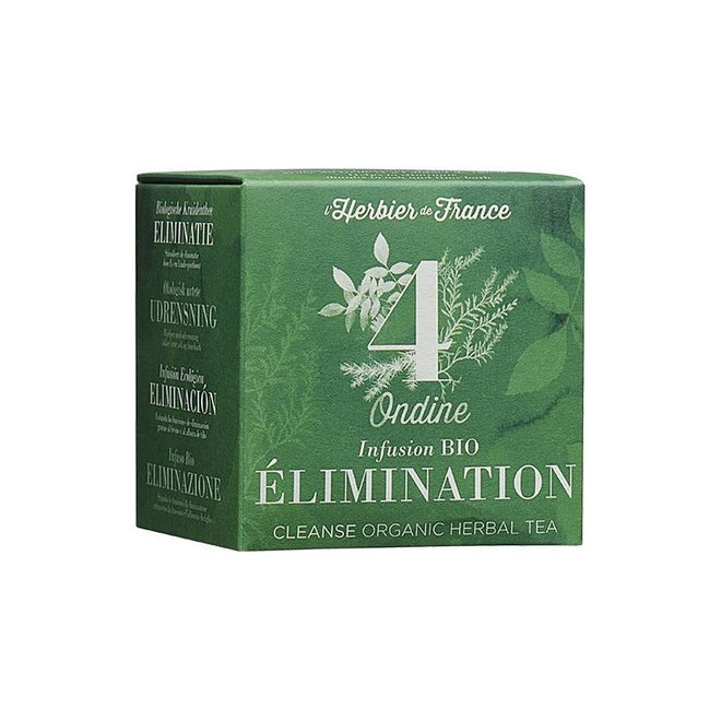 法國有機草本消腫茶 (不含咖啡因) Organic Herbal Tea for Elimination (15 tea bags)