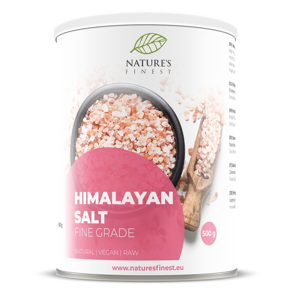 喜馬拉亞山岩鹽 Nature's Finest  Himalayan Salt (500g)