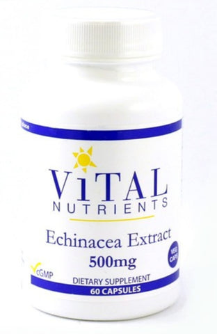 松果菊萃取物 (500mg) Vital Nutrients Echinacea Extract (60 capsules)