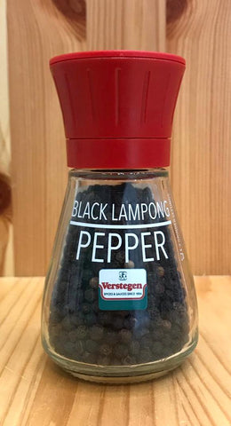 即磨原粒印尼黑胡椒 Lampong Black Peppercorns with grinder (40g)