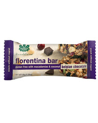 澳洲農場無麥麩黑朱古力雜錦小食棒 Brookfarm Gluten Free Macadamia and Belgian Chocolate Florentina Bar (35g)
